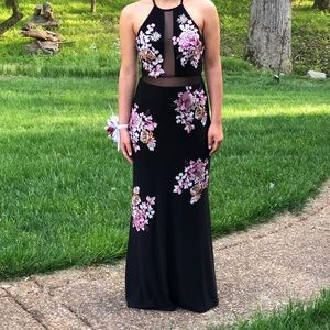 full length black tie/special occasion dress